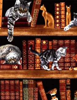 Cats in the Library