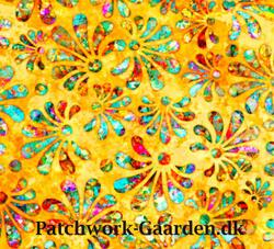 RADIANCE : STYLIZED FLORAL - Yellow