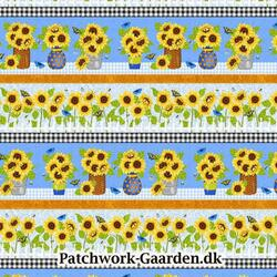 Sunny Sunflowers : Panel