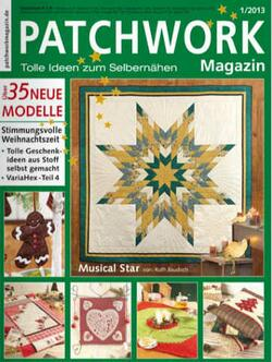 Patchwork Magazin 1/2013