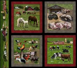 Farm Animals : Store stamps