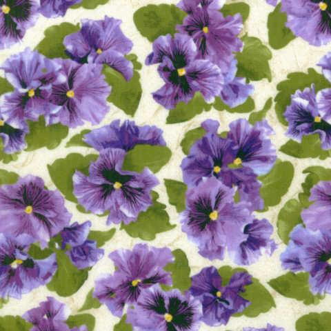 Lovely Pansies : 1444-2