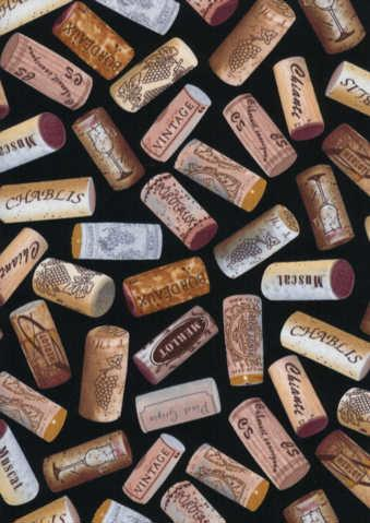 Wine Tossed Corks