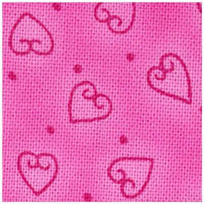 Quilters Basic : Pink Hjerter