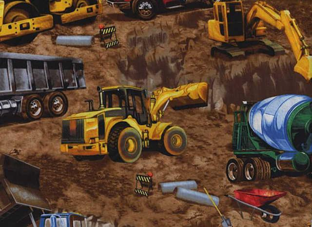 Trucks and Earth Movers : Arbejds maskiner