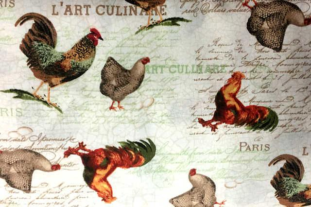 French Country Roosters