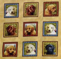 NEDSAT : Loveable Labradors - stamps