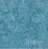 Bali Handpaints - Blujay Dotty Floral